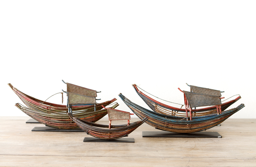 Alexander Lamont antique boats from Sumatra