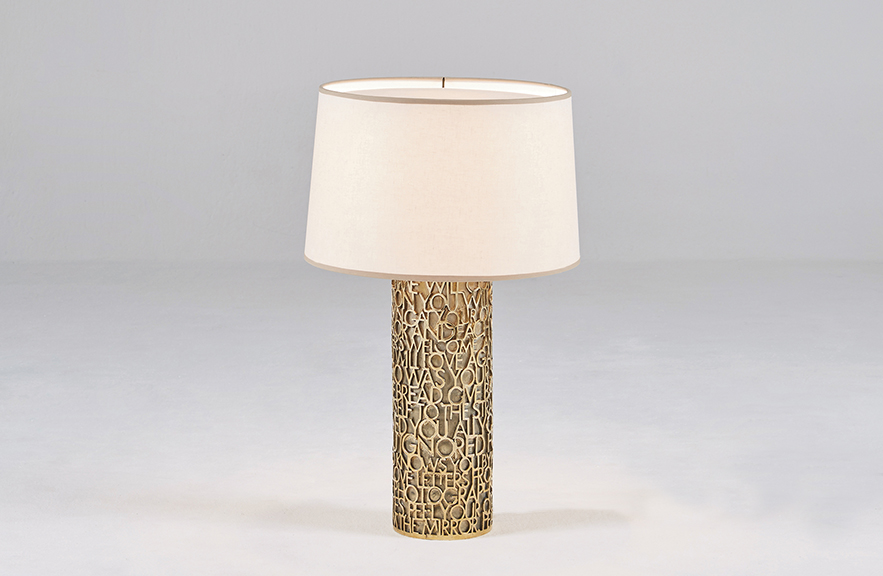 Alexander Lamont Castries table lamp
