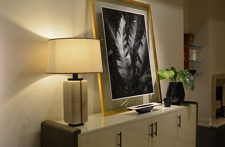 Alexander Lamont Canister Lamp in situe Bangkok residence