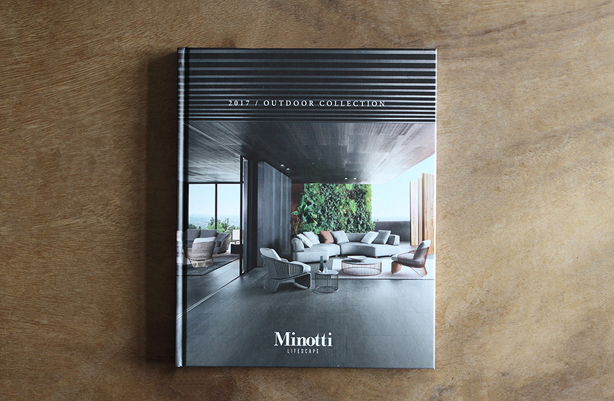 Minotti Catalogue 2017