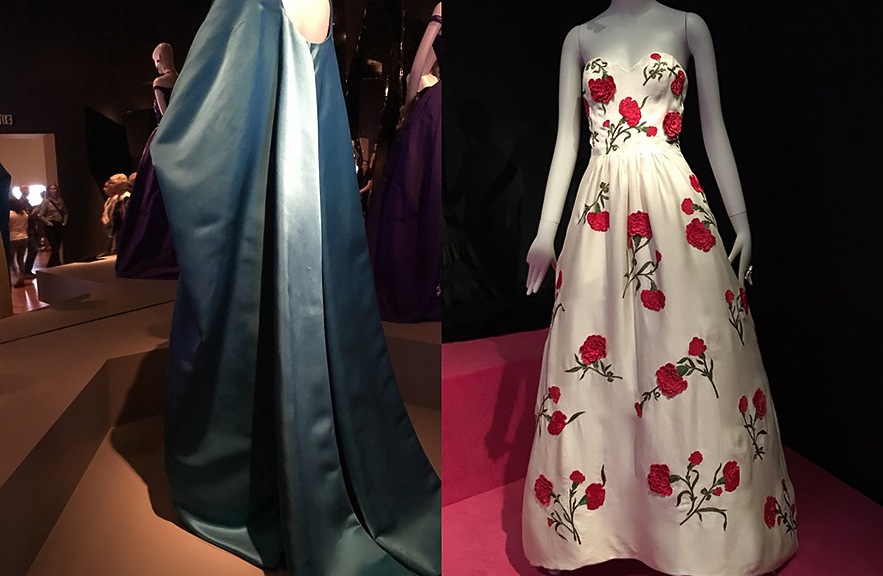 Oscar de la Renta Retrospective photo by Alexandra Lamont