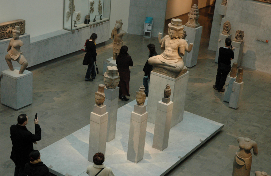 Musee Guimet in Paris, France.