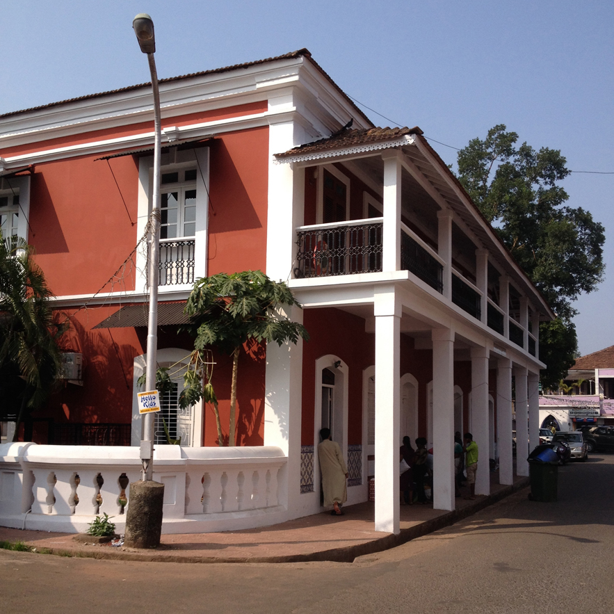 Portuguese house in Goa by Alexander Lamont