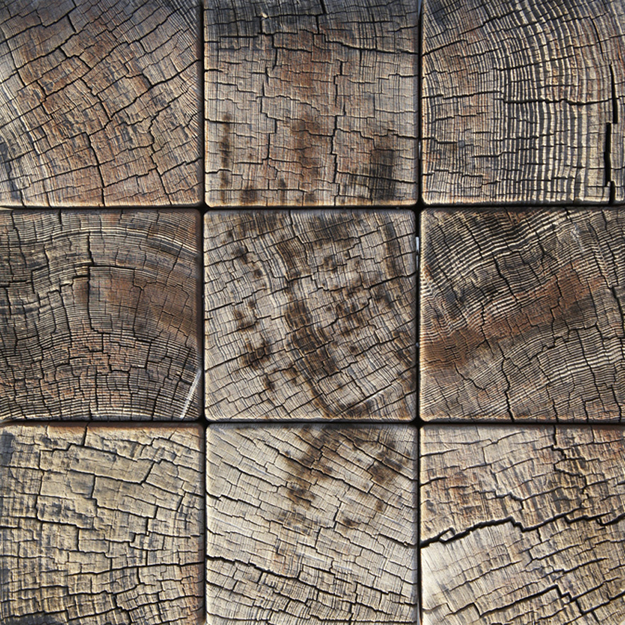 Japanese aged wood by Alexander Lamont