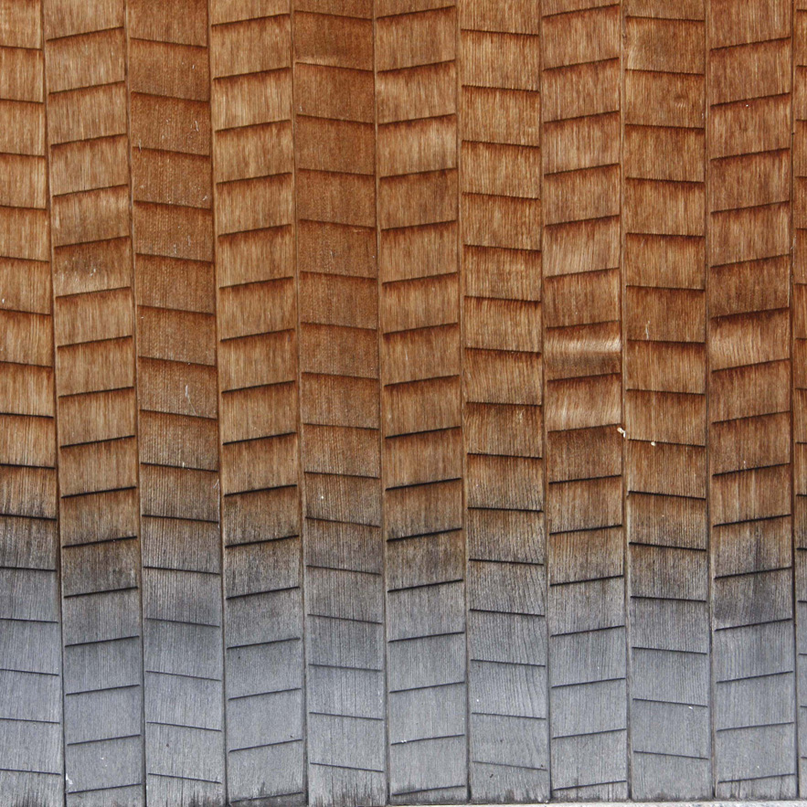 Japanese wooden shingles by Alexander Lamont