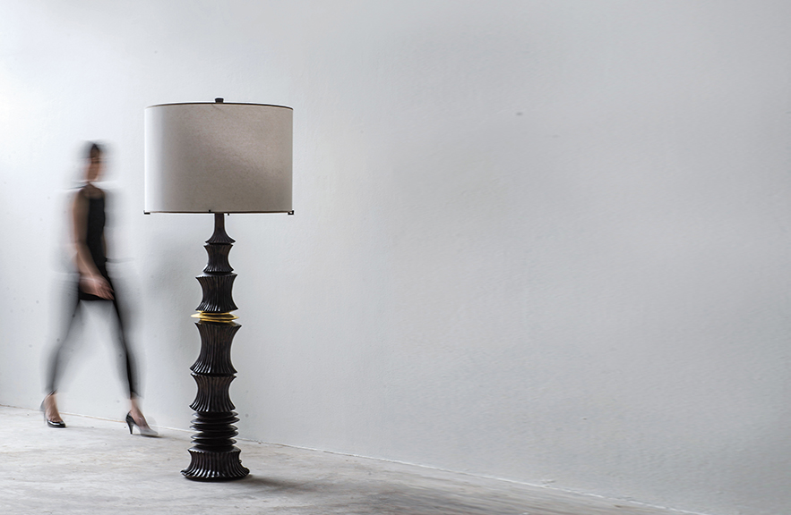Alexander Lamont Moulin floor lamp