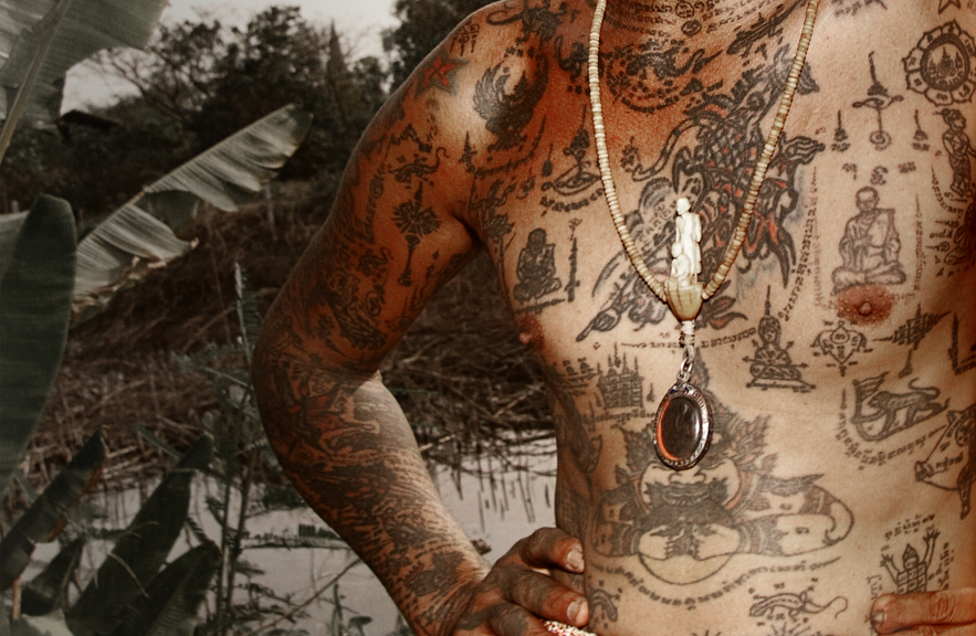 Image from Sacred Tattoos of Thailand book by Joe Cummings