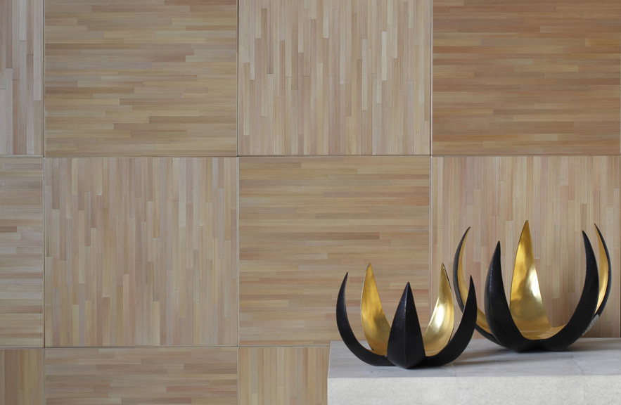 alexander lamont straw marquetry ligne wall paneling