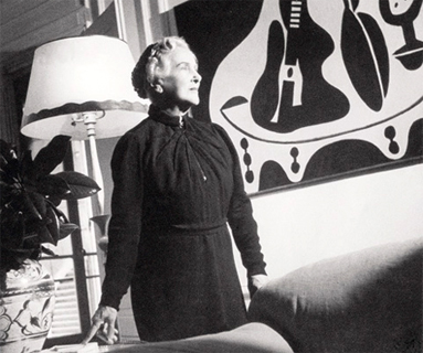 Eugenia Errázuriz in her Paris apartment