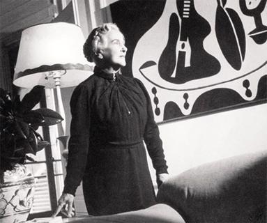 Eugenia Errázuriz in her Paris apartment