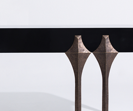 Oscar Desk from Alexander Lamont Atlantica Collection