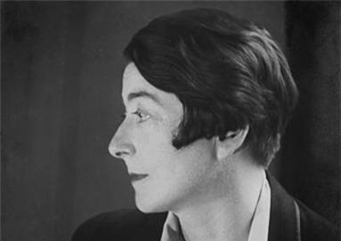 Eileen Gray photographed by Berenice Abbott, Paris 1926